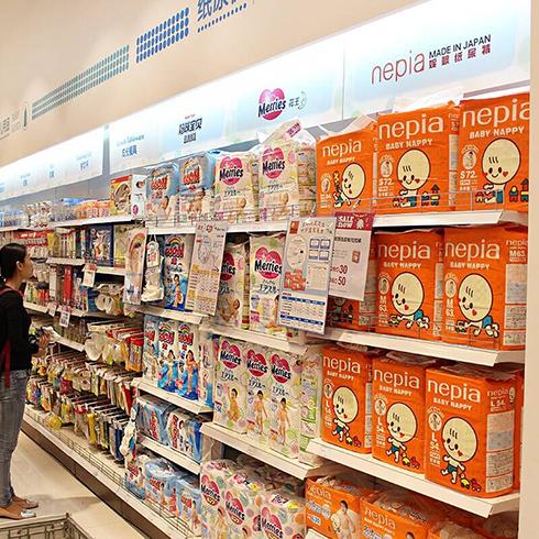 欣欣王子母婴用品-进口产品货柜