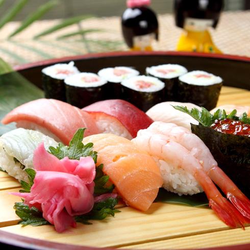 寿司拼盘2