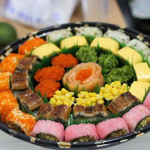卷卷爱寿司拼盘