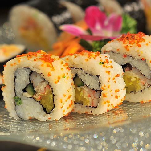 鲜虾鱼籽卷