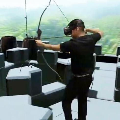 聚空间VR乐园射击