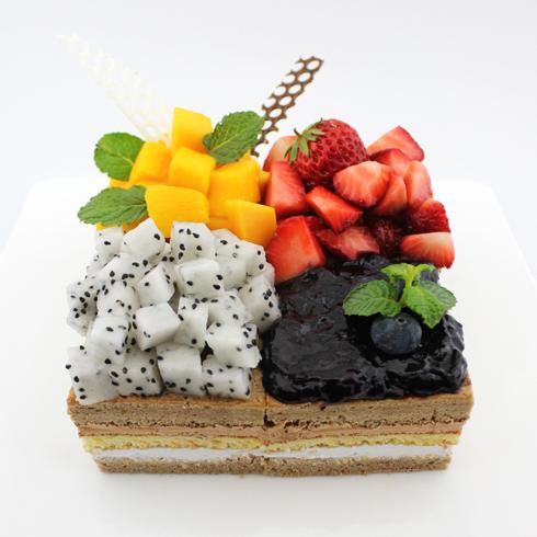 玛努卡水果慕斯蛋糕