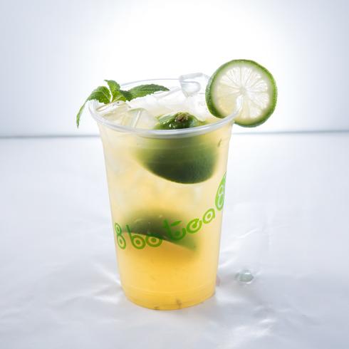 8波茶金桔柠檬茶