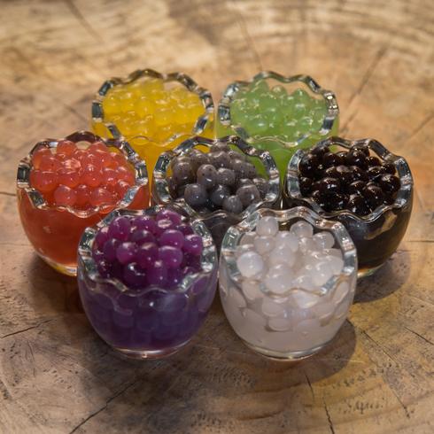 8波茶纯手工珍珠