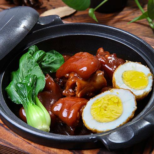 锅先森台湾卤肉饭快餐-台式猪扒饭