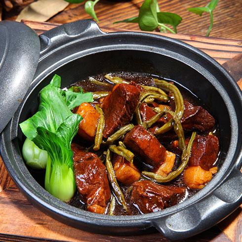 锅先森台湾卤肉饭快餐-台式红烧肉
