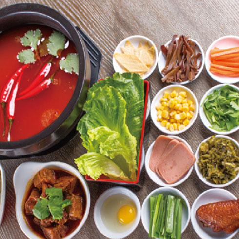 张一碗过桥米线-红汤配料