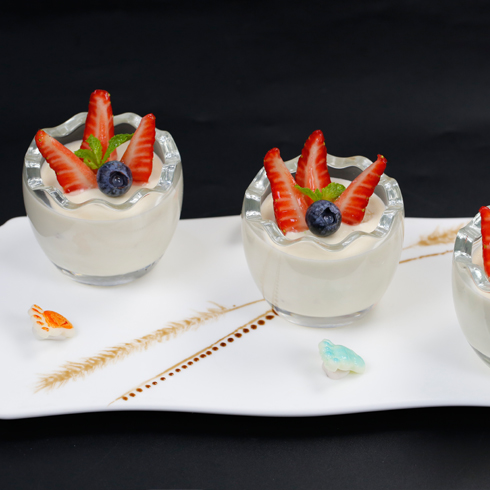 老港记甜品-牛奶布丁
