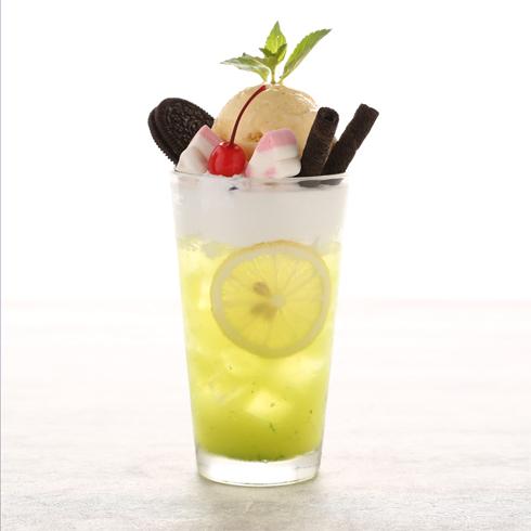 蔓斯雪冰淇淋-柠檬冰茶