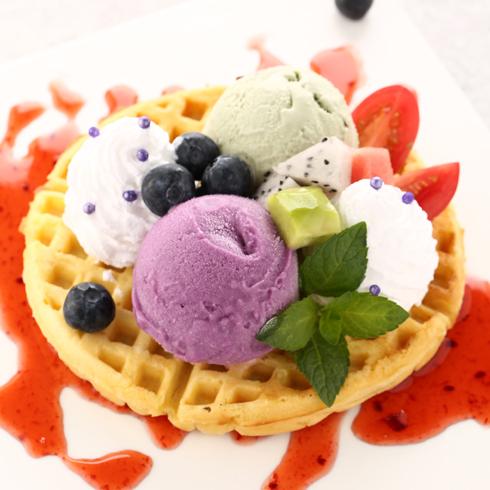 蔓斯雪冰淇淋-滋蛋仔冰淇淋
