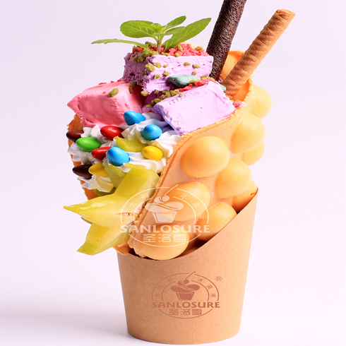 圣洛雪冰淇淋-QQ鸡蛋仔雪冰球