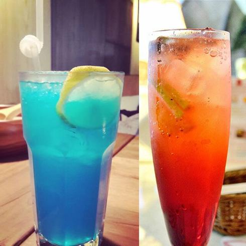 吃货壹号牛排杯-蓝莓饮品