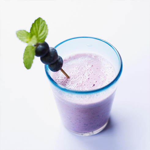 吃货壹号牛排杯-蓝莓沙冰
