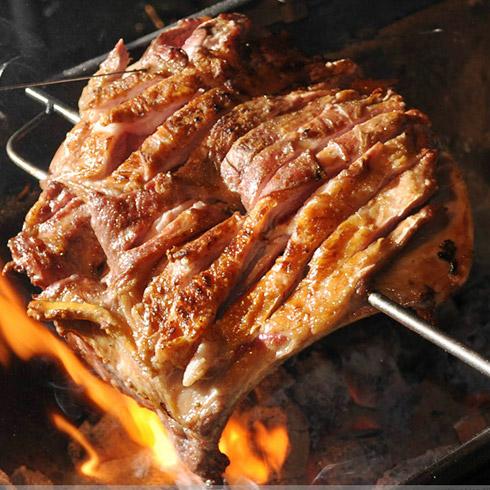 一品世家部落烤场-烤羊排