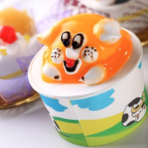 妙言果冻冰淇淋-可爱美味冰淇淋
