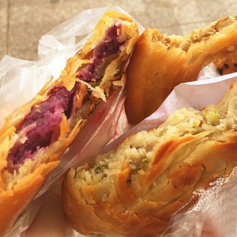 涂记油酥饼-紫薯味