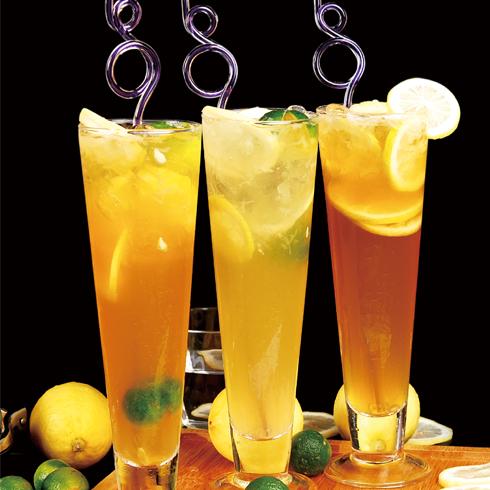 零度鲜饮奶茶饮品-冰柠檬果饮