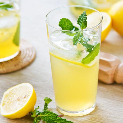 零度鲜饮奶茶饮品-冰柠檬水