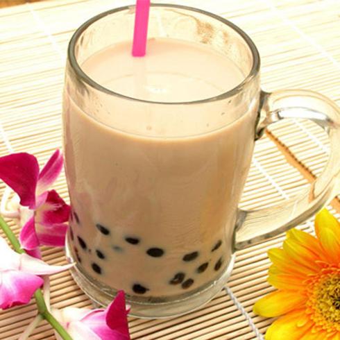零度鲜饮奶茶饮品-珍珠奶茶