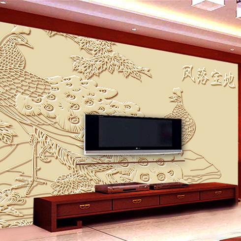 博科3D万能打印机-影视背景墙
