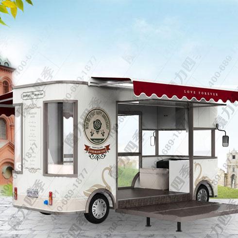 魔力四季美食车-时尚小吃车