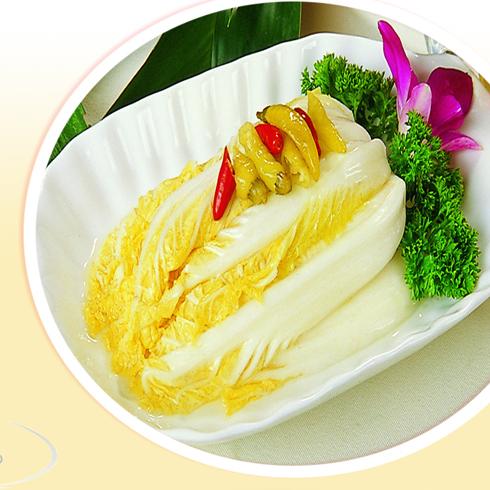 鸿记煌三汁焖锅-白菜小食