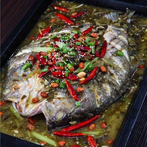 鱼的门烤鱼-酸辣烤鱼