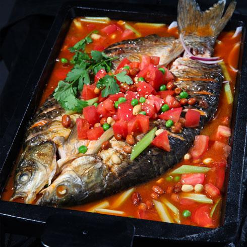 鱼的门烤鱼-番茄烤鱼