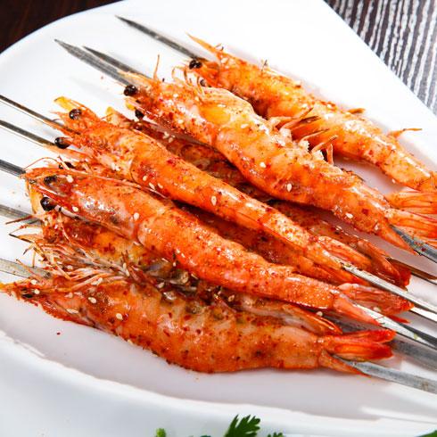 鱼的门烤鱼-黄金烤虾