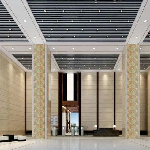 新欧集成墙饰-酒店大厅效果