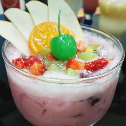 吃货壹号牛排杯-水果刨冰