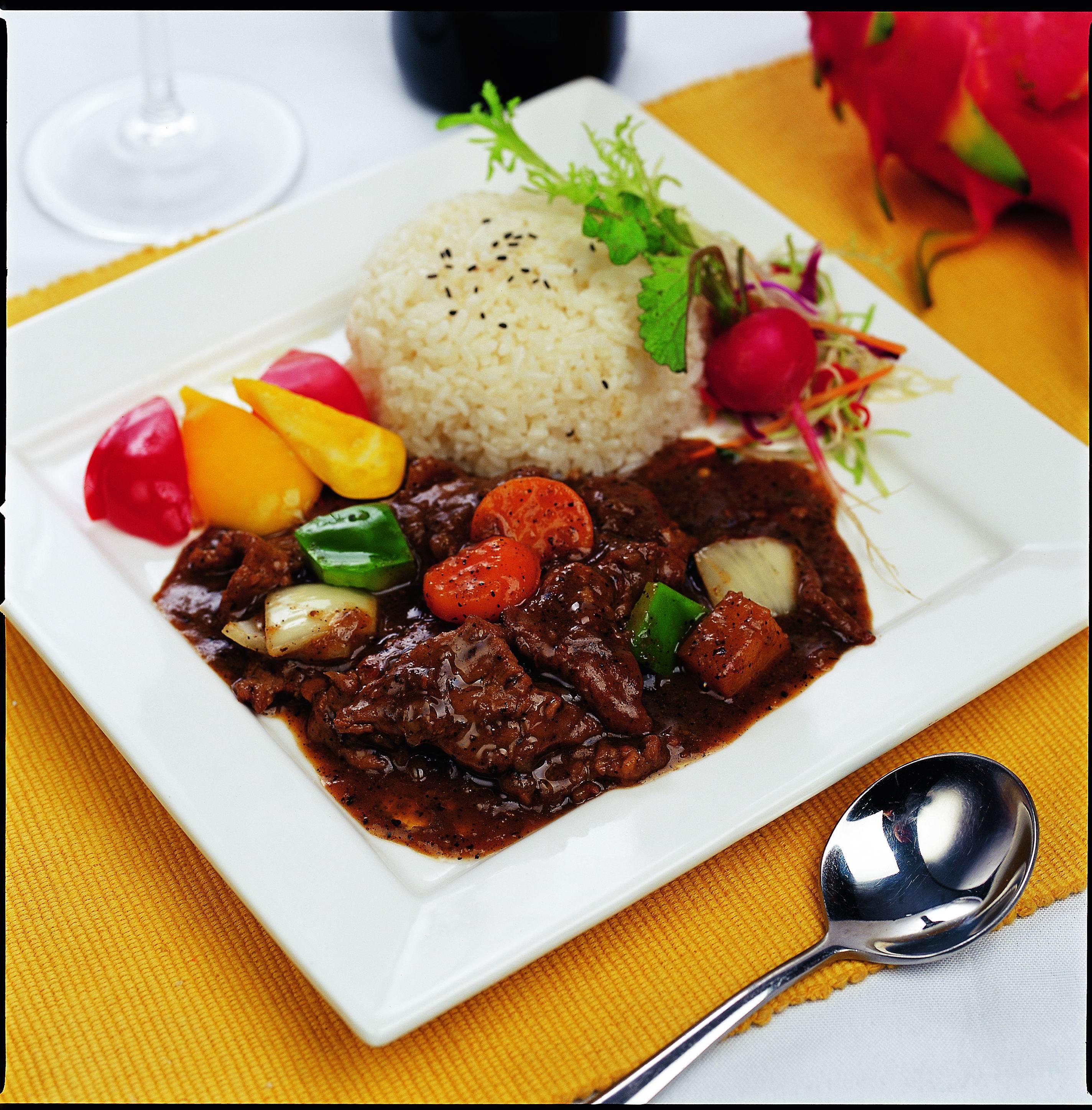 中式快餐模板