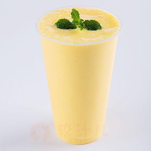 较汁儿鲜榨果汁-菠萝奶昔