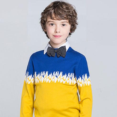 可嗳吉米童装-时尚毛衣