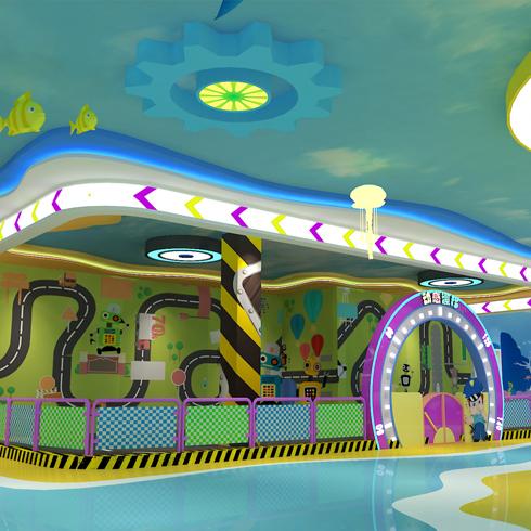 朵拉A萌儿童主题乐园-动感漂移