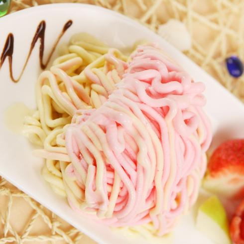 伊莎冰淇淋-面条冰淇淋