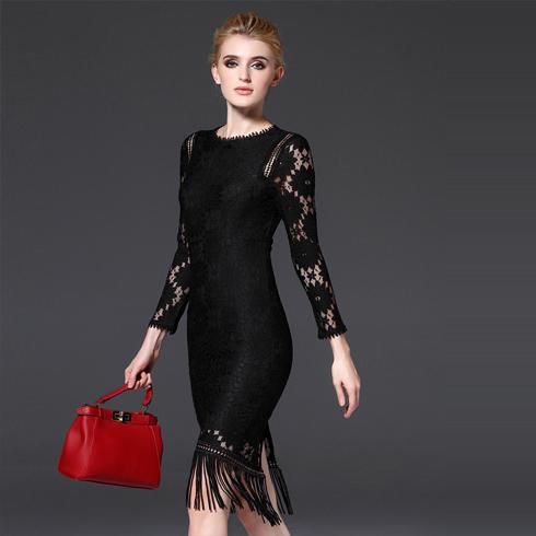 千姿惠女装-黑色时尚装