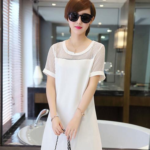 Qanzhui女装-白色简约装