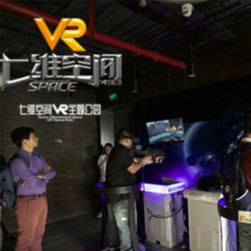 七维空间VR主题公园-实地场景