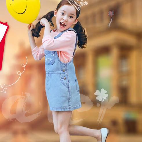 熊奈儿童装-时尚女童装