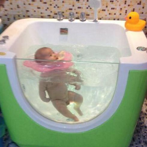 小鸭当家婴童水上乐园-婴儿单人水池
