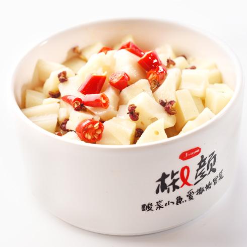 椒颜酸菜小鱼-经典小菜