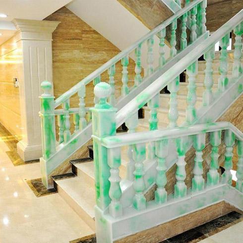 翡御石业新型石材-酒店楼梯
