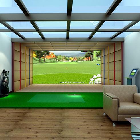 KS4D疯狂娱乐馆-虚拟高尔夫场景