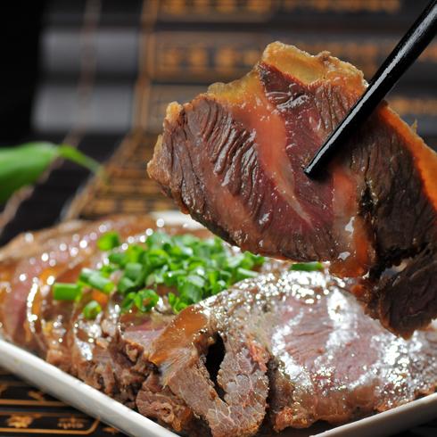 豪巴适重庆小面-五香牛肉
