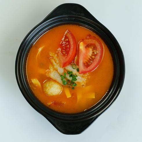 九索麻辣烫-西红柿鸡蛋米粉