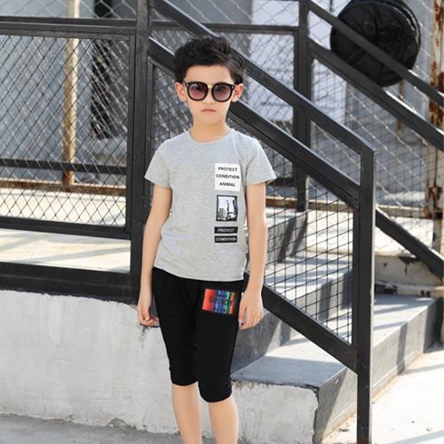 贝蕾尔-潮流印花运动T恤