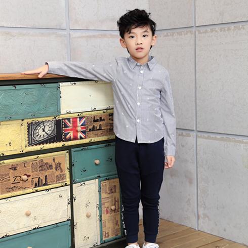 贝蕾尔-纯色韩版修身衬衫