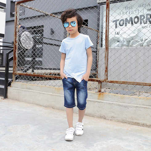 贝蕾尔-纯色纯棉T恤