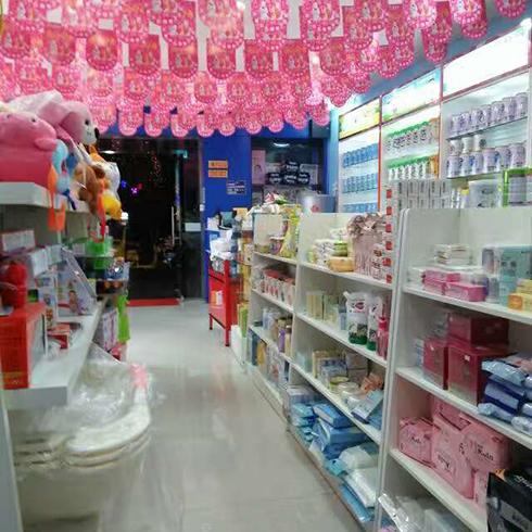 千喜贝贝母婴用品-店内的一角